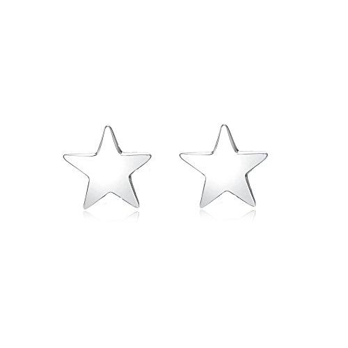 YFN Argent sterling Oxyde de Zirconium étoile Boucles d'oreille à tige pour femme Filles (View amazon detail page)