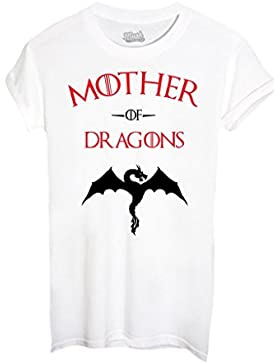 T-SHIRT MOTHER OF DRAGONS GAME OF THRONES-FILM by MUSH Dress Your Style