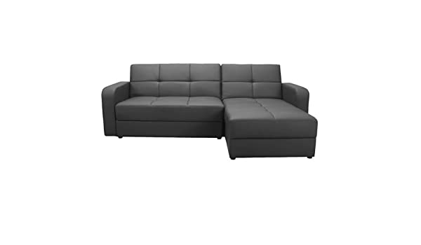 Outstanding Worldstores Essentials Florida Corner Sofa Bed In Black 4 Onthecornerstone Fun Painted Chair Ideas Images Onthecornerstoneorg