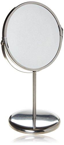 IKEA 0885932544170 TRENSUM Spiegel, Edelstahl, Silber, 17 x 17 x 33 cm