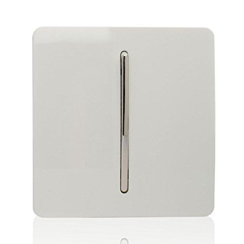 Trendi - Interruptor de luz táctil, 1 Interruptor, 3 vías, artístico, Moderno,...