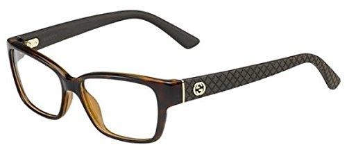 gucci-montatura-di-occhiali-3717-per-donna-black-51-mm-marrone-marron-havane-marron-53