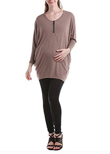 Stylish / Large Size / Qualität Fabrics Umstandskleid (Langarm-Shirt)