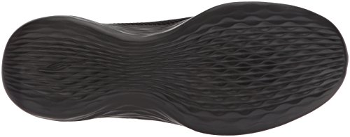 Skechers You-Rise, Sneaker Infilare Donna Nero (Black)