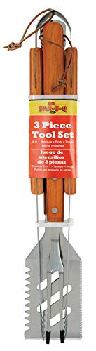 Herr Bar B Q 02295ynst 3-teilig Edelstahl Werkzeug Set