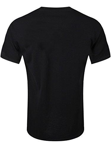 Adventure Time Pop Art T-Shirt schwarz Schwarz