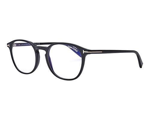 Tom Ford Brille (TF-5583-B 001) Acetate Kunststoff schwarz glänzend