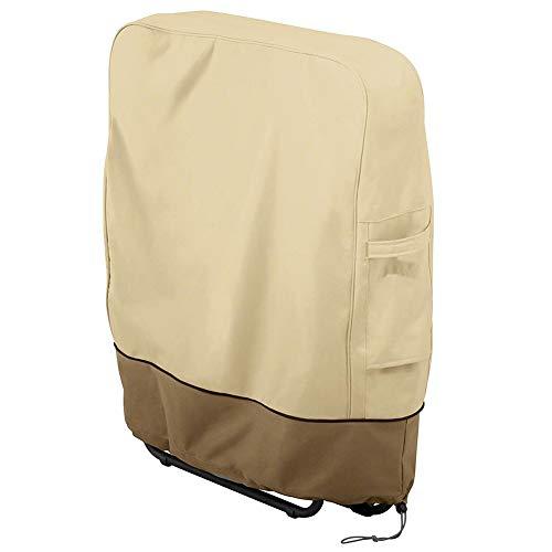 Lzdseller01 copertura per sedia a sdraio, copertura per mobili da esterno per sedia, copertura per sedia da giardino reclinabile, 82 x 93 cm