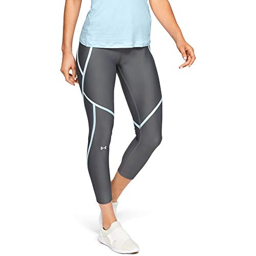 A HG Ankle Crop Edgelit Capri, Pitch Grau/Coded Blue/Metallic Silver (012), Small ()