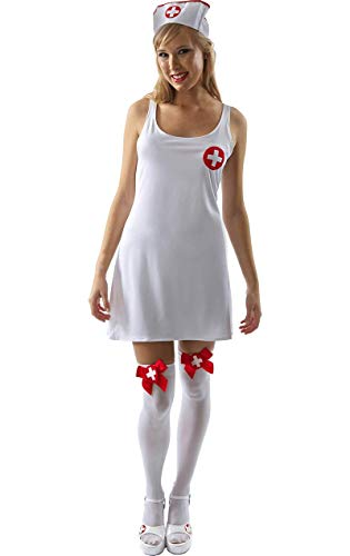 Nurse Dress - Extra Large (Nurse Fancy Dress Kostüm)