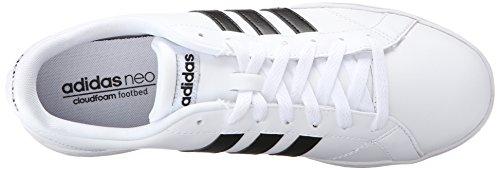 Ftwwht Leder ftwwht Turnschuhe Baseline cblack Adidas Bnpxv6aa