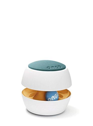 Ongo Kit, ergonomisches Sitzmöbel für Kinder, Hocker Höhenverstellbar, aktiv, Farbe:Petrol - Orange