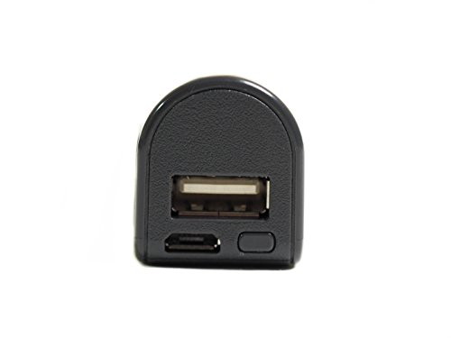 sellgal-tec  ® MQ-L500+ mod anthrazit – USB-Stick Diktiergerät, Spy Powerbank. Einstellbare Empfindlichkeit und Audioqualität, Weiterentwicklung des bekannten L500