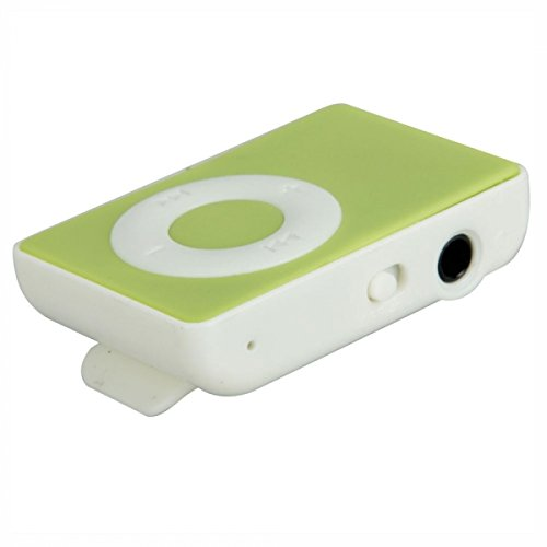 Captcha MP3 Player with TF Card Support (Green)