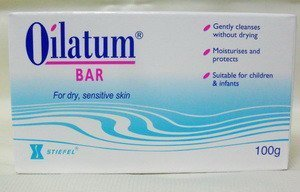 Baby Mild Bar Soap (Pack of 3 Oilatum Bar Soap 100gram)