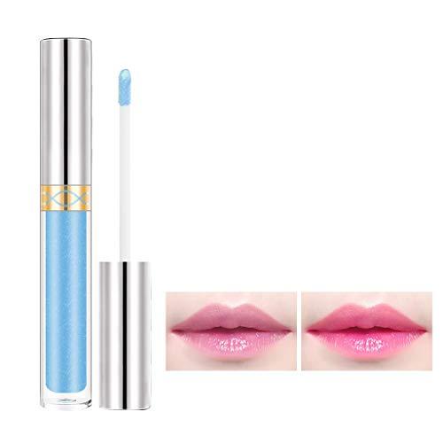 Lippenstift Lipgloss Farbwechsel Blume Glänzend Schönheit Feuchtigkeitsspendend Langlebig Honig Sternenhimmel Lipstick Make up Damen