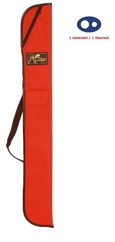 Queue-Tasche LAPERTI für 1 Unterteil /1 Oberteil Farbe ROT
