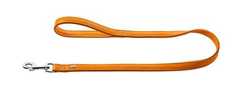 HUNTER Hundeführleine Wallgau, Leder, orange, 2,0/100 cm -