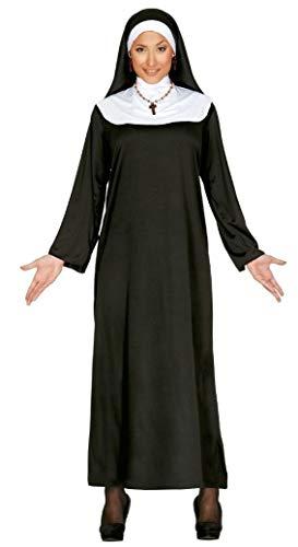 Guirca Costume da Suora Tunica da Monaca per Adulti, 40-44, 80031