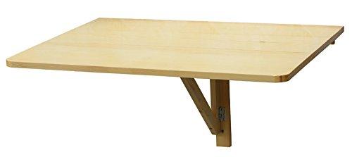 Mesa de cocina plegable de pared