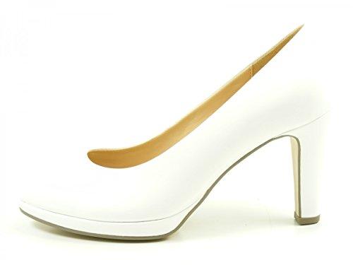 Gabor Damen Fashion Pumps Weiß