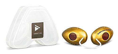 Sunside75-04 Gold/UV-Schutzbrille/Solariumbrille