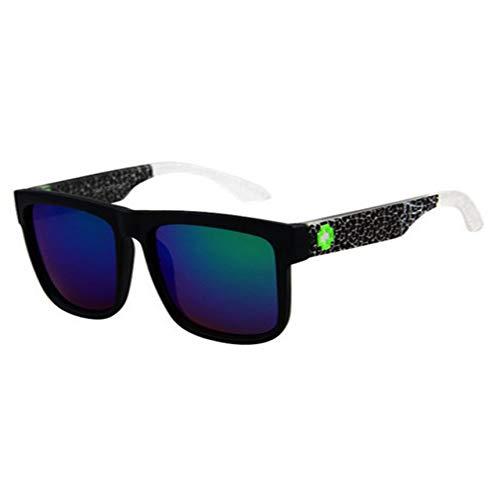 GJYANJING Sonnenbrille Sport-Sonnenbrille-Männer, Die Schatten Männliche Sonnenbrillen Für Mann-Retro-Luxus Uv400 Fahren