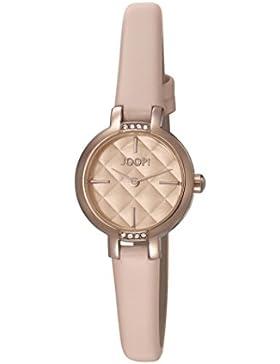 Joop! Damen-Armbanduhr Nude Kiss Analog Quarz Leder JP101862002
