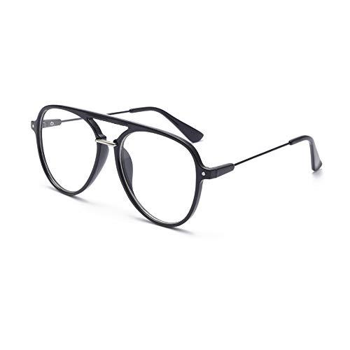 YUANJJ Anti-ErmüDungs-Lesebrille, Strahlungssichere Optische Brille Mit GroßEm Rahmen, MäNnliche Und Weibliche Tragbare GläSer 1,75