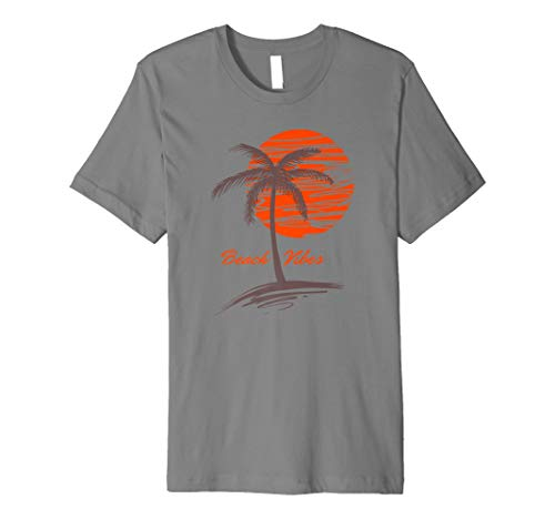 Beach Vibes Sunset Tropical Island Paradise Urlaub T-Shirt