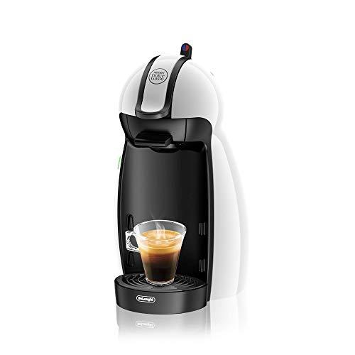 Nescafe Dolce Gusto De'Longhi Piccolo EDG100.W Macchina per Caffè Espresso e altre bevande, 15 bar, Bianco [Classe di efficienza energetica A]