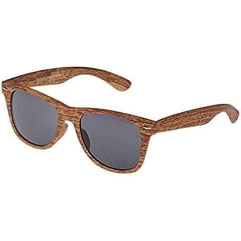 Textura colección años 50estilo gafas de sol: madera