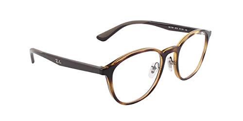 Ray-Ban Unisex-Erwachsene 0RX7156 Brillengestelle, Braun (Havana), 51