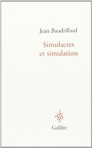 Simulacres et simulation
