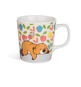 NICI- Taza para niños Castor, Porcelana, 8x8,5cm, Variedad de Colores (41925)
