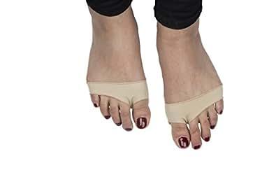 Une paire de coussin pour la plante du pied en gel pour syndrome métatarsien et névrome de Morton (Large - Homme)