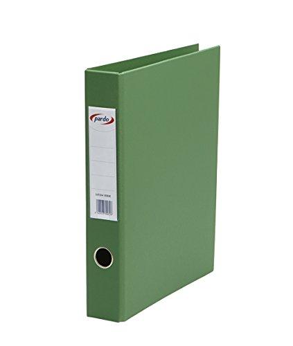 Pardo–Aktenordner Kunststoff, 4/40, Foolscap Folio grün