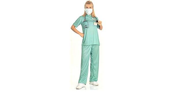 1a11547a80 Child Doctor Nurse Surgeon Scrubs E.R Fancy Dress Costume Kids 3-10 Years  New Kostüme & Verkleidungen