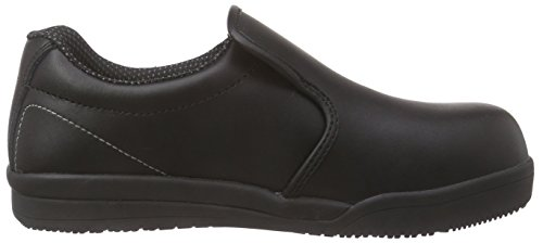 SanitaSan-Chef Slipper-S2 - Scarpe Antinfortunistiche Unisex – Adulto Nero (Schwarz (Black 2))
