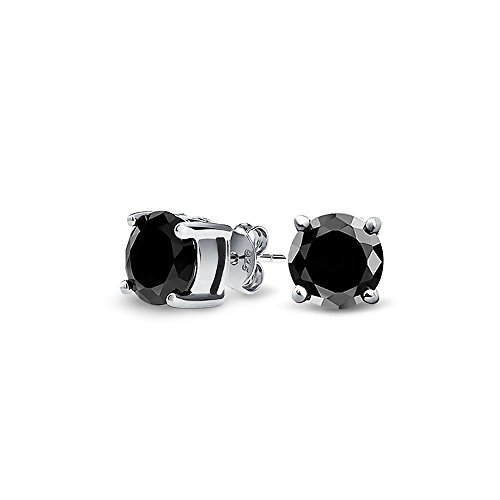 bling-jewelry-mens-unisex-cz-round-black-stud-earrings-925-sterling-silver-5mm