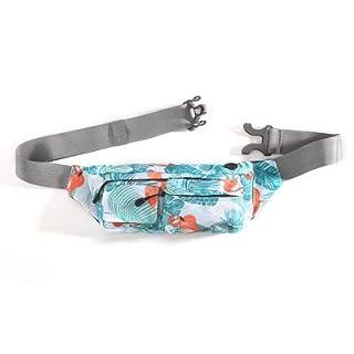 Aisen Fanny Pack Waist Bag Travel Pocket Chest Shoulder Bag Running Belt with Multiple Compartments, Great for Hiking, Walking, Biking, Running, Travel (TORPICAL)