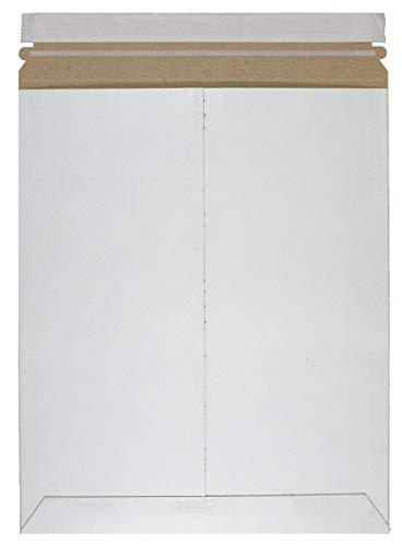 25Stück starr Versandtaschen 9,75x 12,25groß Karton Briefumschläge 93/4x 121/4. Stay flach, Karton, Spanplatten, Wellpappe, Fiberboard, No Bend Versandtaschen. schälen und Dichtung.