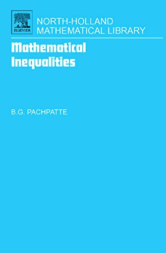 Mathematical Inequalities (North-Holland Mathematical Library)