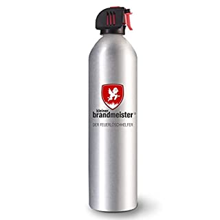 Handliches Löschspray von Kleiner Brandmeister® - löscht schnell Feuer und Fettbrand, für Wohnmobil, Küche, Grill, Brandschutz Zuhause und im Büro