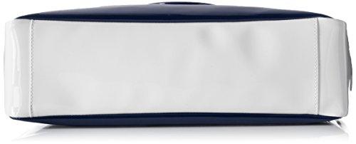 Armani - 922548cc852, Borsa con Maniglia Donna Mehrfarbig (BLU/BIANCO/TORTORA 39735)