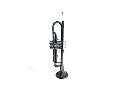 Trompete in Bb B flach Messing Phosphor Kupfer Exquisite Kunststoff Trompete schwarz