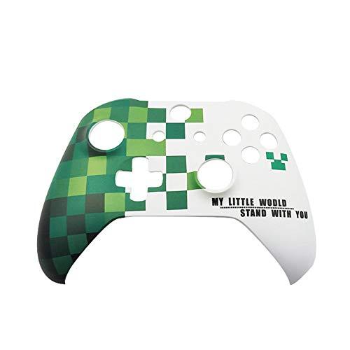 Niulyled Frontschale für Xbox One X S Slim Controller - ABS Wasserpaste-Prozess personalisierte Frontschale mit Tasten