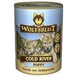 Wolfsblut - Cold River Puppy Forelle+Süßkartoffel, 6x395g