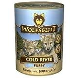 Wolfsblut Cold River Puppy mit Forelle 6x395g