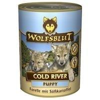 Wolfsblut Cold River Puppy mit Forelle - Junior Nassfutter Wolfsblut